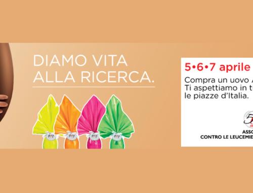 Le Uova di Pasqua AIL, in4800piazze italiane